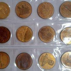 Trofeos y medallas: LOTE DE 12 MEDALLAS CONMEMORATIVAS. TEMAS INGLESES. Lote 269845703