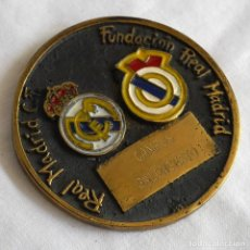 Trofeos y medallas: MEDALLA DE BRONCE FUNDACIÓN REAL MADRID CAMPUS BALONCESTO. Lote 269850098