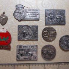 Trofeos y medallas: MEDALLAS DE RALLIE DE COCHE. Lote 269851218