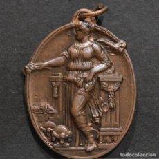 Trofeos y medallas: MEDALLA BARCELONA 1935 IV ANIVERSARIO PROCLAMACION DE LA REPUBLICA. Lote 270637923
