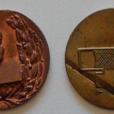 Trofeos y medallas: LOTE DE 2 ANTIGUAS MEDALLAS DEPORTIVAS / PADEL - PADDLE. Lote 219513657