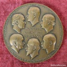 Trofeos y medallas: MEDALLA DE BRONCE. SOCIETE CHIMIQUE DE FRANCE. R. COCHET. 1957.. Lote 276684448