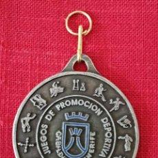 Trofeos y medallas: MEDALLA JUEGOS DE PROMOCIÓN DEPORTIVA CABILDO DE TENERIFE 2007. Lote 277495258