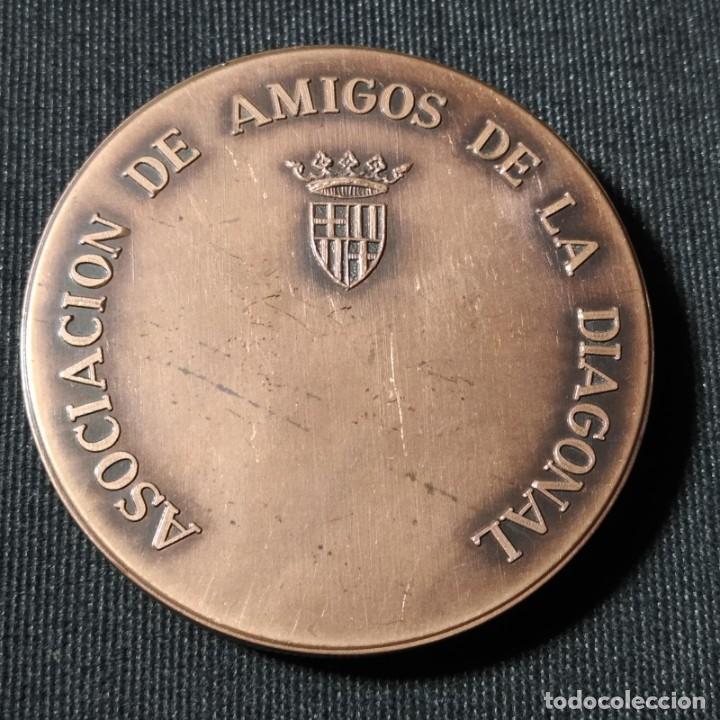 Trofeos y medallas: Guardia Urbana montada de Barcelona, Asociación de amigos de la Diagonal, Medalla de Bronce, Pujol - Foto 2 - 277509528