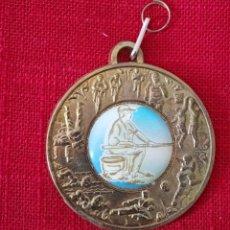 Trofeos y medallas: MEDALLA JUEGOS DEPORTIVOS PESCA. Lote 277512048