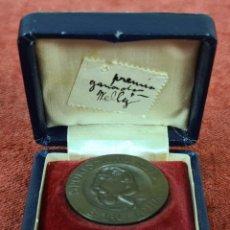 Trofeos y medallas: MEDALLA DE COBRE. SPORT'S MEN CLUB. BARCELONA. CAJA ORIGINAL. 1906.. Lote 277707048