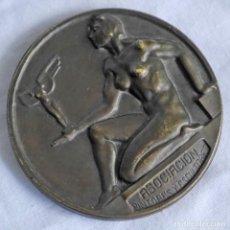 Trofeos y medallas: MEDALLA DE BRONCE 75 ANIVERSARIO DE LA ASOCIACIÓN DE PINTORES Y ESCULTORES 1910-1985. Lote 278590928