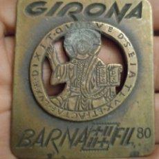 Trofeos y medallas: MEDALLÓN MEDALLA DE BRONCE. Lote 279336163