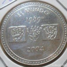Trofeos y medallas: FICHA EL MUNDO - 1989 / 2004 * TACITO. Lote 279350098