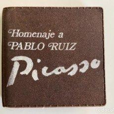Trofeos y medallas: MEDALLA DE PLATA HOMENAJE A PABLO RUIZ PICASSO , AÑO 1977 , MÁLAGA , SOLO 750 UNIDADES. Lote 279550783
