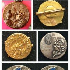 Trofeos y medallas: LOTE PINS Y MEDALLAS.!!. Lote 285643078