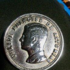 Trofeos y medallas: MEDALLA DE PLATA DE FELIPE DE BORBON Y GRECIA,- PRINCIPE DE ASTURIAS 1977. Lote 287117228