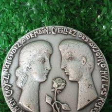 Trofeos y medallas: FRANCIA MEDALLA VILLE DE GERBERE RICHARD BALME - BRONCE FL. Lote 288446893