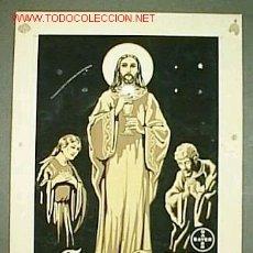 Varios objetos de Arte: CORPUS CHRISTI / PUBLICIDAD CASA BAYER 13 X 18 CM Nº REG.891-B. Lote 20172486