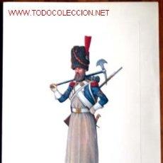 Varios objetos de Arte: JOSE LUIS ROMAN, ZAPADOR DE GRANADEROS A PIE DE LA GUARDIA. FIRMADO POR EL AUTOR.ENVIO CERTIFICADO G. Lote 27618832