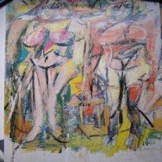 Varios objetos de Arte: WILLEM DE KOONING / HISSHHORM MUSEUM WASHINGTON D.C. / CENTRE CULTURAL LA CAIXA BARCELONA 1994. Lote 26733780