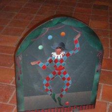 Varios objetos de Arte: PANTALLA DE CHIMENEA PINTADA A MANO. Lote 10410823