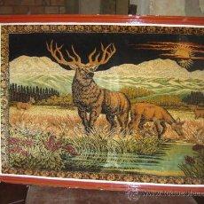 Varios objetos de Arte: TAPIZ CIERVO. Lote 9442159