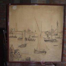 Varios objetos de Arte: TAPIZ ANTIGUO. Lote 9442196