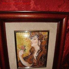 Varios objetos de Arte: ESMALTE ARTESANO FIRMADO G.REIZ. . Lote 2533225