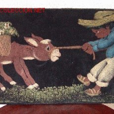 Varios objetos de Arte: CUADRO REALIZADO SOBRE FIELTRO..SANNA. Lote 24217625