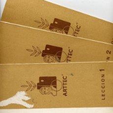 Varios objetos de Arte: CURSO DE PINTURA AL ÓLEO. EDIT. ARTEC, 1967. Lote 16482538