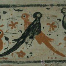 Varios objetos de Arte: GOÑI, PANEL CERÁMICO FIRMADO ML, GOÑI. Lote 27158785
