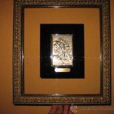Varios objetos de Arte: EL CARBAYON OVIEDO EN PLACA DE PLATA HISPANICA. Lote 10549537