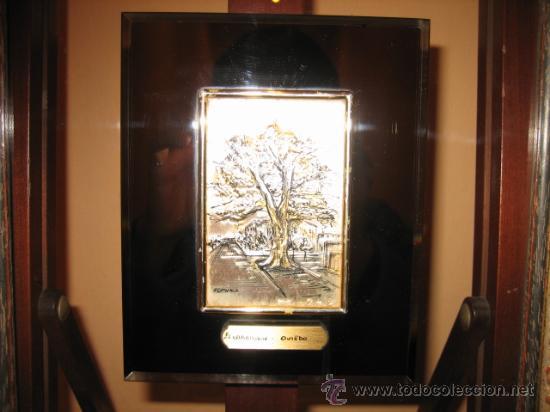 Varios objetos de Arte: EL CARBAYON OVIEDO EN PLACA DE PLATA HISPANICA - Foto 5 - 10549537