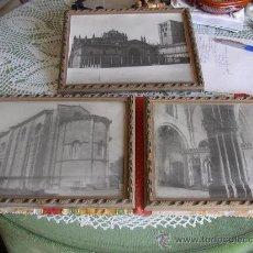 Varios objetos de Arte: TRES CUADROS CORRESPONDIENTES A TRES FOTGRAFÍAS.. Lote 23823466