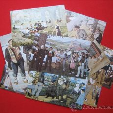 Arte: 12 POSTALES DE JOSE ARRUE SERIE COMPLETA EDICION: POSTAL ARTE - BILBAO TP2500. Lote 150217050