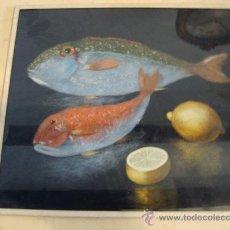 Varios objetos de Arte: CUADROS HECHOS CON LANA. Lote 23373001