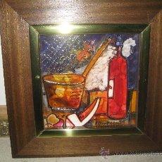 Varios objetos de Arte: 2 ESMALTES A BAJA TEMPERATURA - VANESSA 79. Lote 26649209