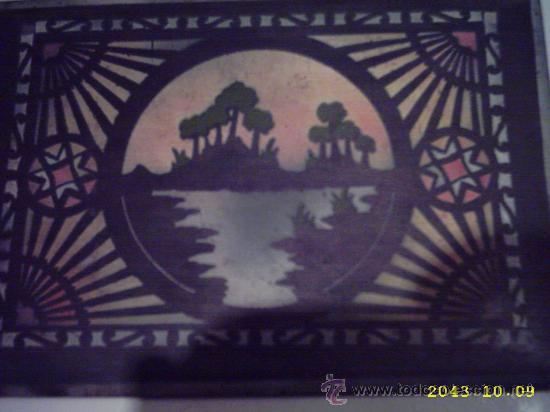 Varios objetos de Arte: Antigua tapa de caja pintada. 14x20 cms - Foto 4 - 22323714