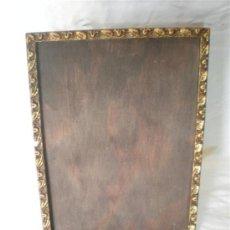 Varios objetos de Arte: MARCO MADERA DORADA. Lote 18486498
