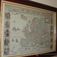 Varios objetos de Arte: CUADRO MAPA DE EUROPA Y ALREDEDORES. Lote 26080920