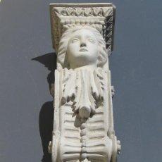 Varios objetos de Arte: CARIÁTIDE DE CEMENTO. Lote 25397116