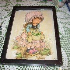 Varios objetos de Arte: HERMOSO CUADRO EN TRES DIMENSIONES (VER FOTOS). Lote 24068285