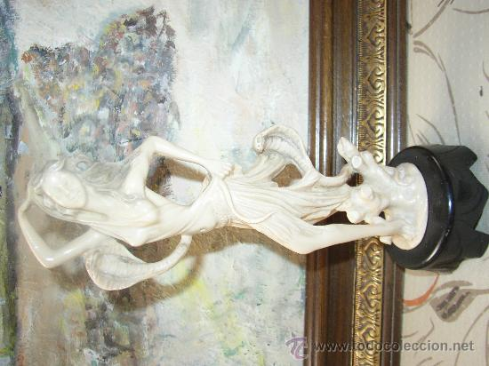 ELEGANTE FIGURA , 27 CMS. CON PIE (Arte - Varios Objetos de Arte)