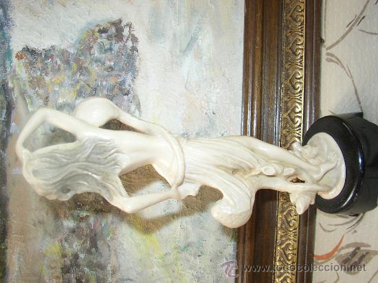Varios objetos de Arte: Elegante figura , 27 cms. con pie - Foto 2 - 21224761