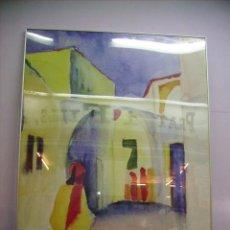 Varios objetos de Arte: CUADRO DE AGUSTS MACKE:BLICK IN EINE GASSE MOSEUN MULHEINAN DER RUHR SAMMLUG ZIEGLER COPY DAN 1998 . Lote 21380307