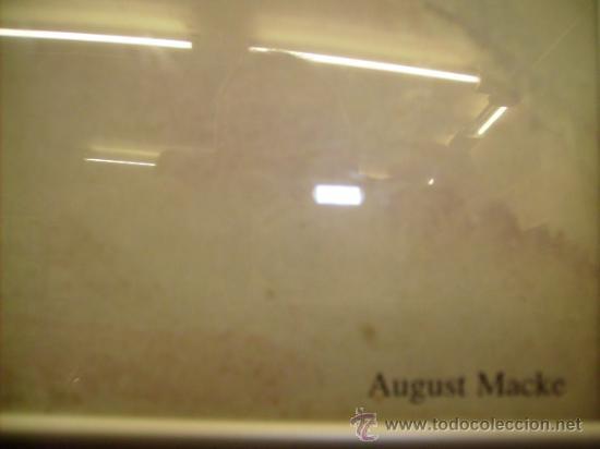 Varios objetos de Arte: CUADRO DE AGUSTS MACKE:BLICK IN EINE GASSE MOSEUN MULHEINAN DER RUHR SAMMLUG ZIEGLER COPY DAN 1998 - Foto 2 - 21380307