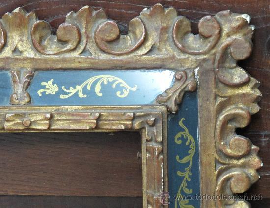 Varios objetos de Arte: MAGNIFICO MARCO ANTIGUO ORIGINAL - VER FOTOS - IDEAL PARA ESPEJO O CUADRO OLEO ANTIGUO - Foto 8 - 24302612
