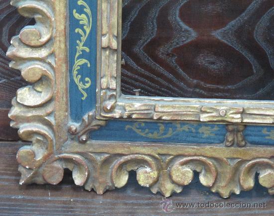 Varios objetos de Arte: MAGNIFICO MARCO ANTIGUO ORIGINAL - VER FOTOS - IDEAL PARA ESPEJO O CUADRO OLEO ANTIGUO - Foto 10 - 24302612