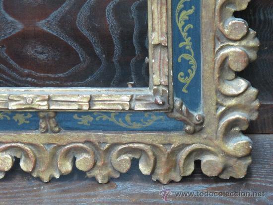 Varios objetos de Arte: MAGNIFICO MARCO ANTIGUO ORIGINAL - VER FOTOS - IDEAL PARA ESPEJO O CUADRO OLEO ANTIGUO - Foto 11 - 24302612