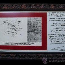 Varios objetos de Arte: DALI - I´BIENAL INTERNACIONAL DE PINTURA. Lote 26700413