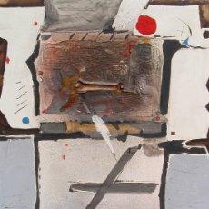 Varios objetos de Arte: MIQUEL TORNER DE SEMIR 1988 - 92 X 73 CM - TÉCNICA MIXTA SOBRE TELA - ABSTRACTO.. Lote 26703651
