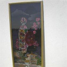 Varios objetos de Arte: CUADRO EN TELA CHINA. Lote 25128241