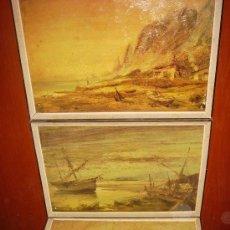 Varios objetos de Arte: ANTIGUOS CUADROS. Lote 27638748