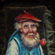 Varios objetos de Arte: PINTURA SOBRE PELOS DE CABALLO.. Lote 26244098